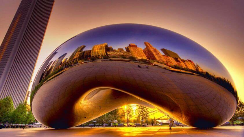Cloud gate van Anish Kapoor