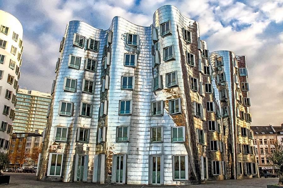 Düsseldorf: Neuer Zollhof, Frank O'Gehry